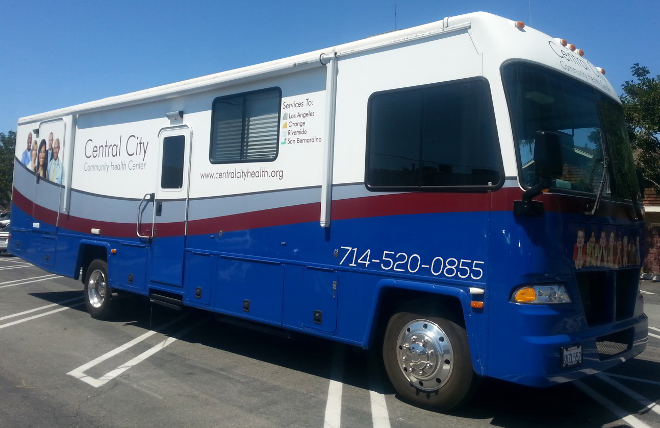 Image of Central City Community Health Mobile clinics