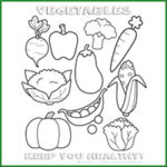 Keep you Healthy coloring page from ©2014Happiness is homemade www.happinessishomemade.com