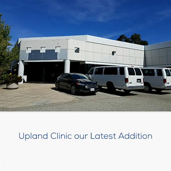 próximamente: imágenes de la página sobre la historia de la clínica de Upland
