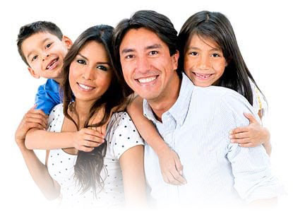 image of family with healthy teeth for Dentistry page for CCCHC site