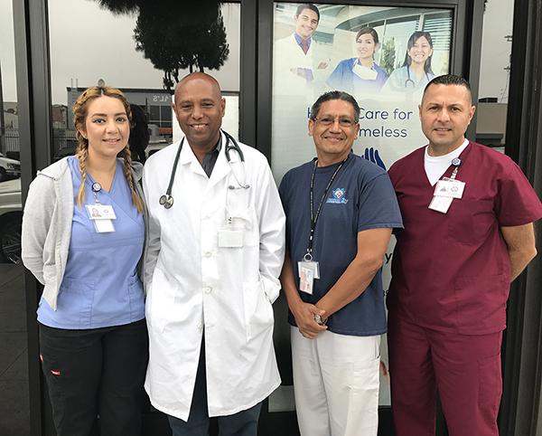 Image of Central City Community Staff for Healthcare for Homeless