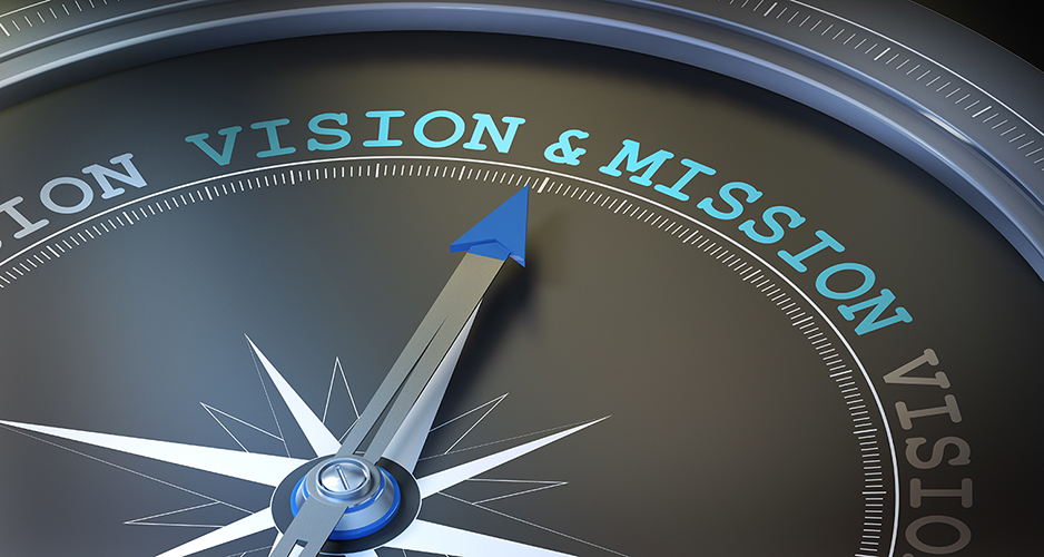 Vision Mission and Values image with Clock for CCCHC page with our Mission statement, Vision and Core Values for our organization