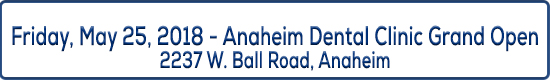 Event title Anaheim Dental Grand Opening Event at Central CIty Community Health Center May 25th