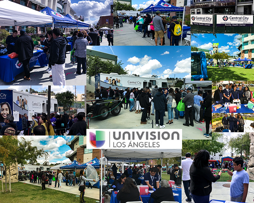 Univision Los Angeles Collage of images from the event held Saturday March 9th, at ELAC
