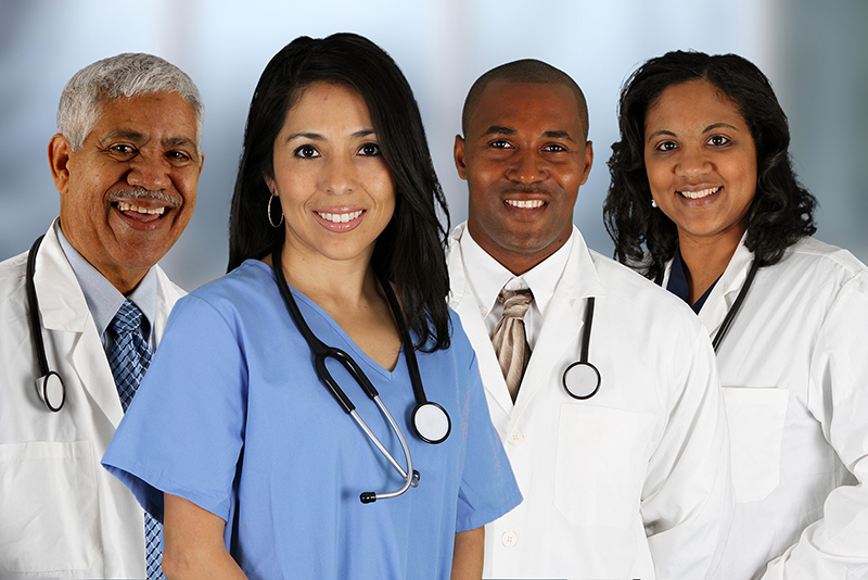 Doctors and Nurse Image for About Us Page on Central City Community Health Clinics CCCHC