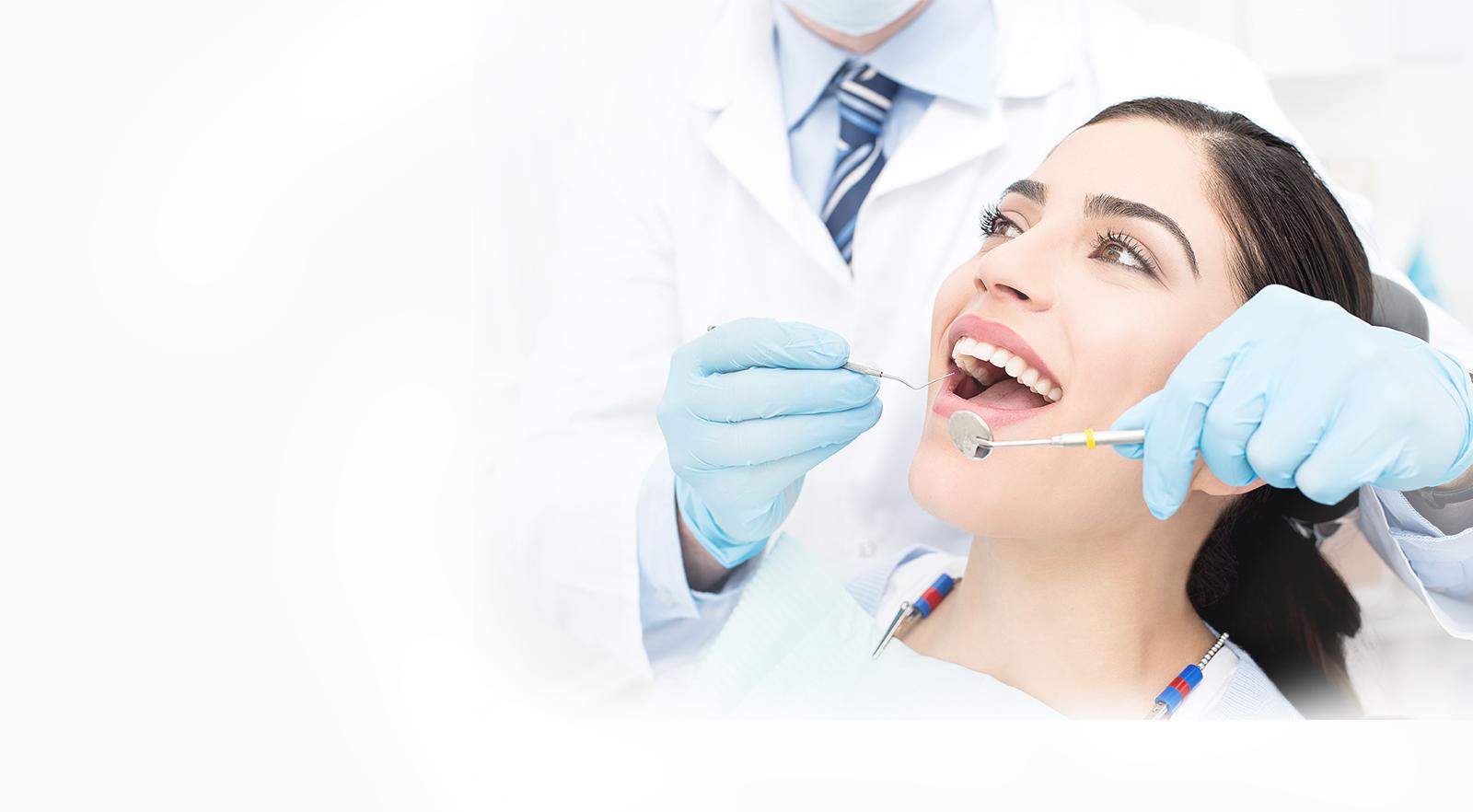 Slider Image of Girl getting Dental Checkup