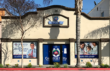 Image of our Baldwin Park 1 Health Clinic at Central City Community Health Center
