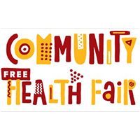 Button image for Community Free Health Fair on June 21 from 12pm to 6pm