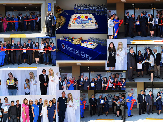 Anaheim Grand Opening for our Dental Clinic, a collage of images