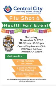 image for flu shot information
