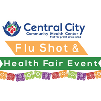 button image to advertise upcoming events at Central City, our Flu Shot and Health Fair Event for November 3rd in Anaheim