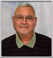 """Image of Regene """"Reggie"""" Panis-Chief Financial Officer on administration page for Central City Community Health Center"""