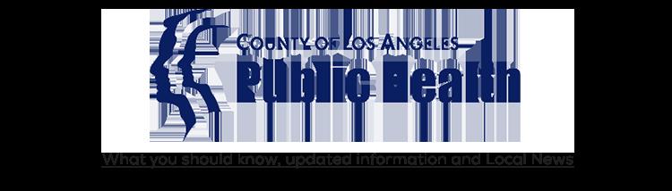 County of Los Angeles Public Health logo to link to Coronavirus information