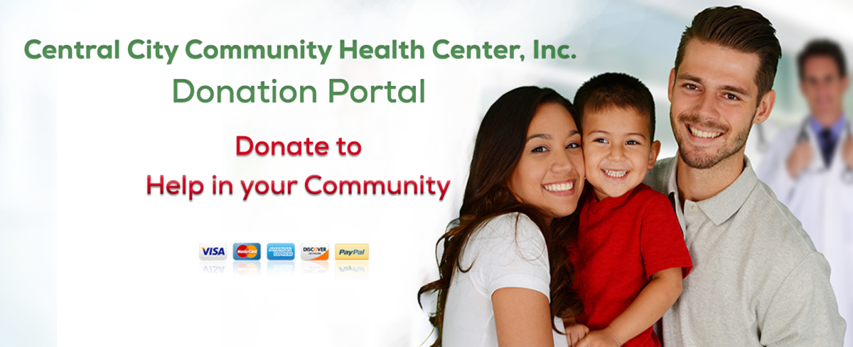 Donations image for donating to Central City Community Clinics to help in your community