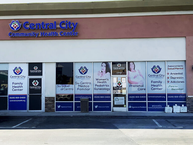 Front picture of location in La Puente Central City Community Health Center