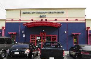 South Los Angeles Central City Clinic front of building for location images